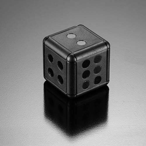 HETUI SQ16SQ16 Mini cámara Dice Camera 1080P Motion Video Surveillance CAM (Negro)
