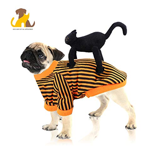 Nwayd huisdier hond kostuum, halloween, grappige kat staande op de hond kleding,4 maten