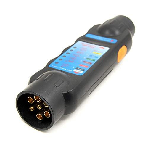Roeam 12 V 7 Pins auto vrachtwagen aanhanger stopcontact tester bedrading schakeling licht test gereedschap auto accessoires