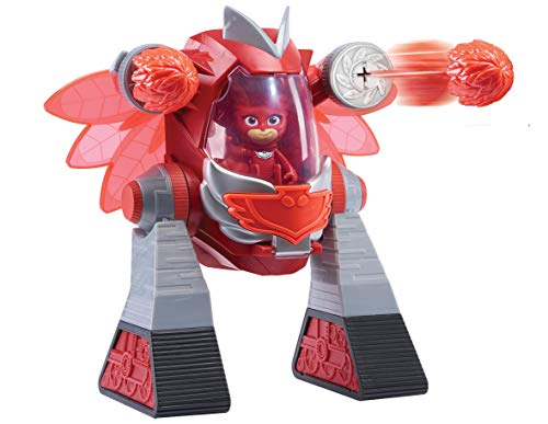 PJ Masks- Robot Turbo Movers Buhita, Gekko, Color Rojo (Bandai JP95507)