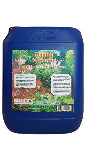 MIBO VITAMINE 5.000 ml Kanister ausreichend für 50.000 Li Aquarium Wasser