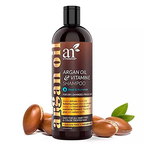 ArtNaturals Argan Oil Hair Loss Shampoo- for Hair Growth & DHT