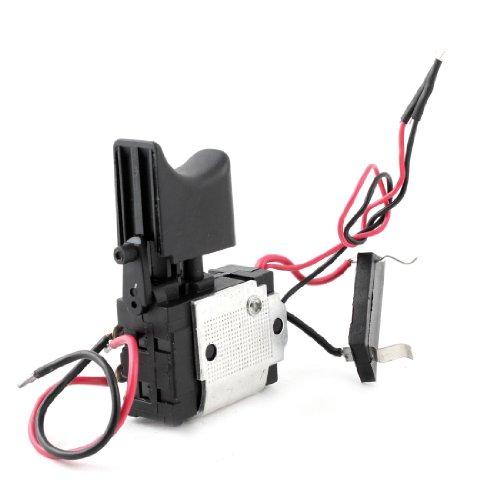 IIVVERR Electric Cordless Drill Trigger Switch 16A DC 24V for Hitachi DS7DF (Interruptor eléctrico sin cable de gatillo 16A DC 24V para Hitachi DS7DF