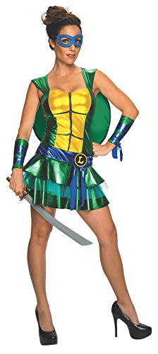 Secret Wishes Women's Teenage Mutant Ninja Turtles Leonardo Costume Dress, Multi, Small