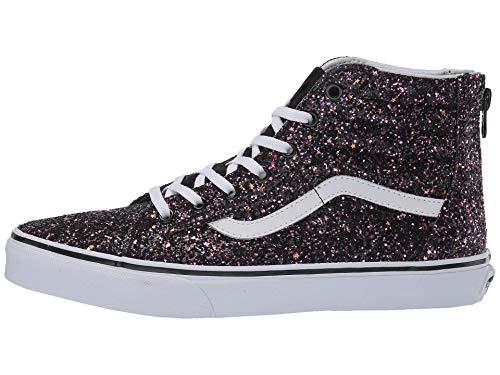 Vans Kids SK8-HI Zip Glitter Stars Schuh 2019 Black/True White