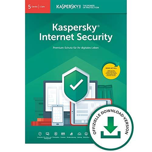 Kaspersky Internet Security 2020 Standard | 5 Geräte | 1 Jahr | Windows/Mac/Android | Aktivierungscode per Email