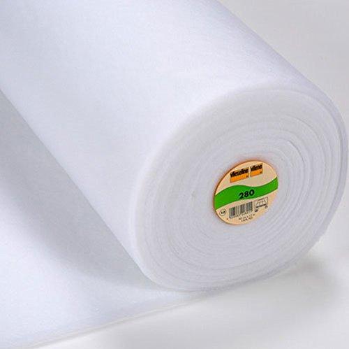 Volumenvlies 280 weiß, pro Meter