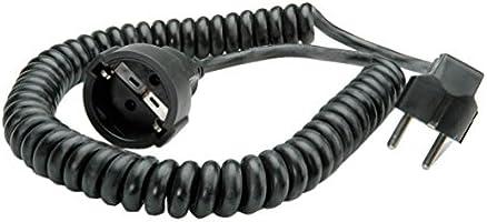 Bachmann 672.181 - Cable alargador en espiral (1000/4000 mm), surtido: colores aleatorios