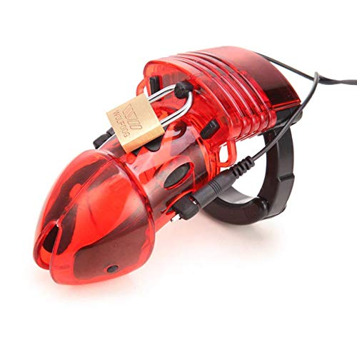 Rood multifunctioneel oefenapparaat voor siliconen Verstelbare ringkooi Voorkom ontsnapping Lock-kooi -414