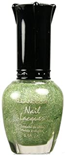 (3 Pack) KLEANCOLOR Nail Lacquer 3 - Holo Green (並行輸入品)