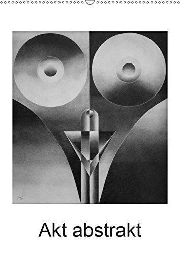 Akt abstrakt - Abstrakte Aktzeichnungen (Wandkalender 2019 DIN A2 hoch): Abstrakte Aktzeichnungen mit Bleistift gezeichnet (Monatskalender, 14 Seiten ) (CALVENDO Kunst)
