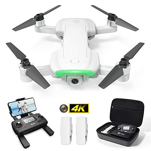 Holy Stone HS510 Foldable Drone with 4K UHD WiFi Camera, 2 Batteries and Storage Bag