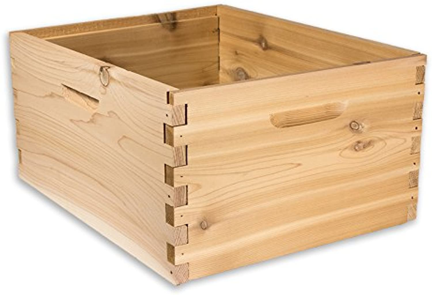 ARBORIA 10 Frame Deep Hive Box Premium Cedar Wood for Langstredh Beekeeping Made in USA, 16 x 19 x 9 Inches