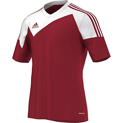 adidas Toque13 Trikot 1/4 Arm Camiseta, Hombre, Rojo/Blanco, 140