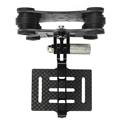 Camera Accessories FUQUANDIAN Camera in Fibra di Carbonio del Giunto cardanico Monte FPV Ammortizzatore Damping PTZ for Phantom Quadcopter Multicopter for GoPro Hero 2 3 + 4 Azione Accessori Staffa