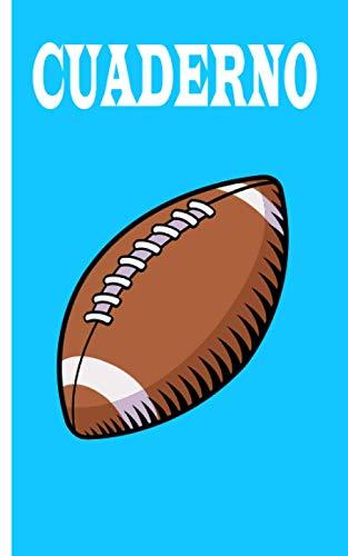 Cuaderno - Fútbol americano: Planificador |Diario |Bloc de notas |Copybook |regalo perfecto para jugadores de fútbol americano |cuaderno de cuadros ... americano |Tamaño 5 'x 8' |más de 100 páginas
