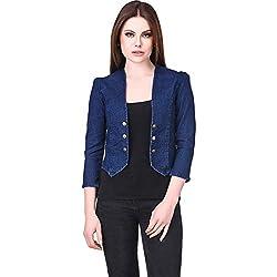Westa Clothing Denim Shrugs for Women Crop Denim Jacket