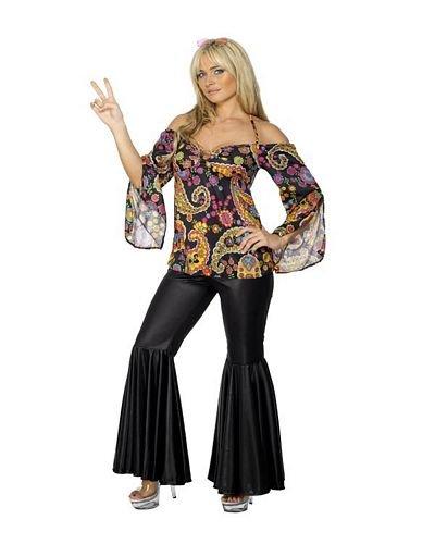 Smiffys Hippie Costume, Female