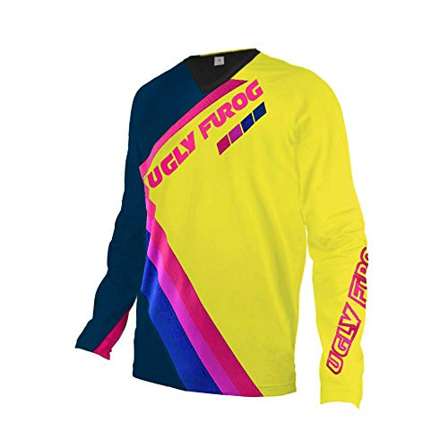 UGLY FROG Uglyfrog Racewear Manga Larga MTB Downhill Jersey Winter Fleece Warm DH/Am/XC/FR/MTB/BMX/Moto Enduro Offroad Ropa Bicicleta de Montaña 148-19HSJFZR12