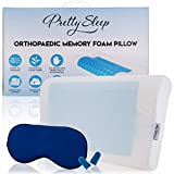 Pretty Sleep - Orthopaedic Contour Memory Foam Pillow - Heat Dissipating - For