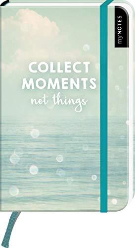 myNOTES Collect Moments not things - Notizbuch im Pocketformat für Träume, Pläne und Ideen