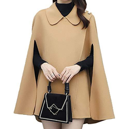 N\P Abrigo de lana camel XXL
