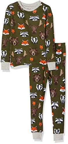 Hatley Organic Cotton Long Sleeve Printed Pyjama Set Conjuntos de Pijama para Niñas