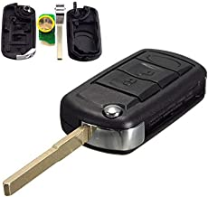 Key Remote for Car 3 Button Floding Remote Key Fob for Land Rover Range Rover L322 HSE Vogue