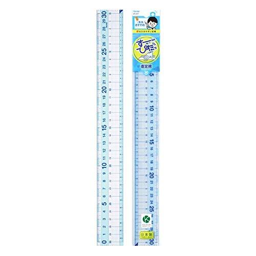 レイメイ 先生おすすめ直定規30cm APJ257 【× 3 個 】