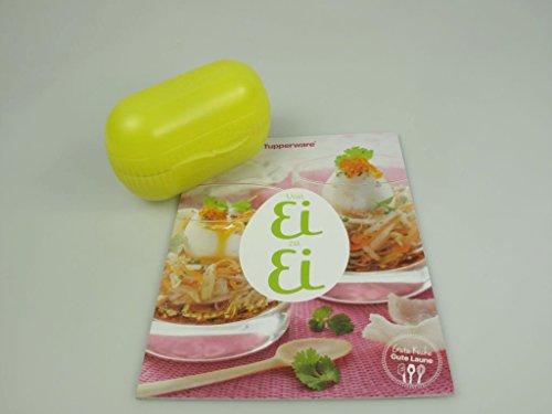 TUPPERWARE Kühlschrank Ei&Go gelb + Rezeptheft