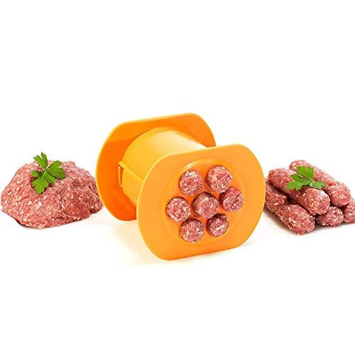 HUAHU Fabricante de salchichas manual para embutidos caseros, molde para perros calientes, para uso comercial y doméstico