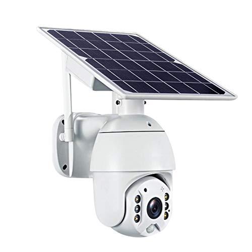 ZJ Versión WiFi 1080P HD Panel Solar HD Vigilancia Al Aire Libre Cámara CCTV Impermeable Cámara Inteligente Inicio De Dos Vías Voz De Intrusión De Intrusión De Seguridad para El Hogar