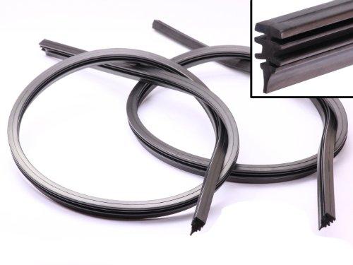 Handycop® 2 x 700mm Ersatz Gummi für Bosch Aerotwin Scheibenwischer 70cm Wischergummi Neu