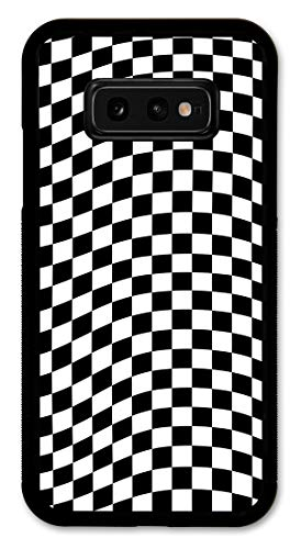Cell Phone Cover - Slim Fit - Compatible with Samsung Galaxy S10e - Checkered Flag