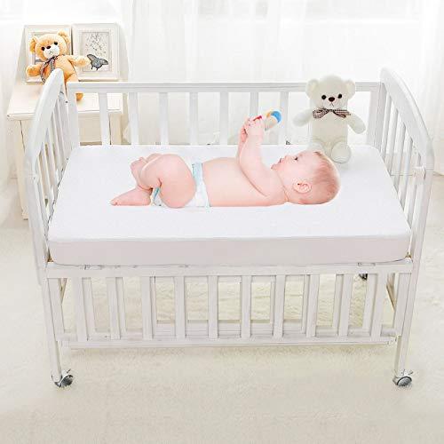 Best For Kids Matratzenauflage Matratzenschoner für Beistellbett und Wiege 55x90 cm (Molton)