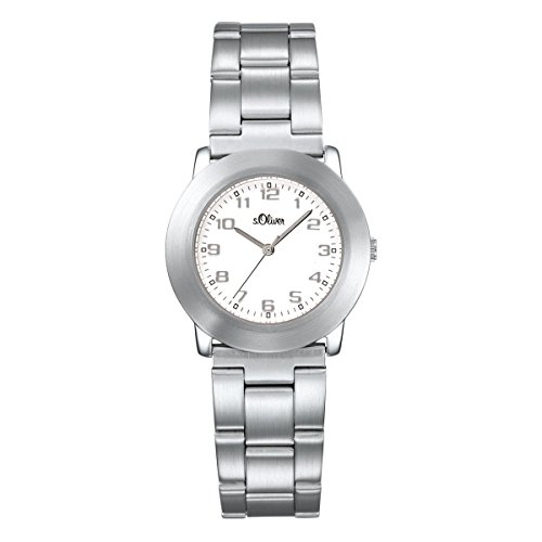 s.Oliver Damen-Armbanduhr Analog Quarz SO-15022-MQR