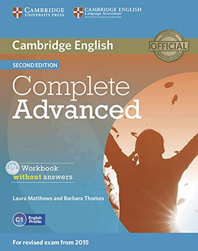 Complete Advanced: Workbook without answers with Audio CD