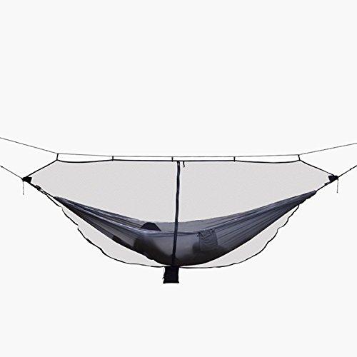 RETYLY Moustiquaire d'hamac Portable Ultra-Legere pour Exterieur Moustiquaire Anti-moustiques en Nylon avec Taille Super