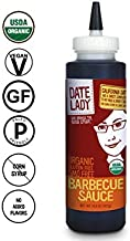 Organic BBQ Sauce by Date Lady | Gluten Free | Paleo Friendly | No Corn Syrup or Cane Sugar | No Added Flavors or MSG