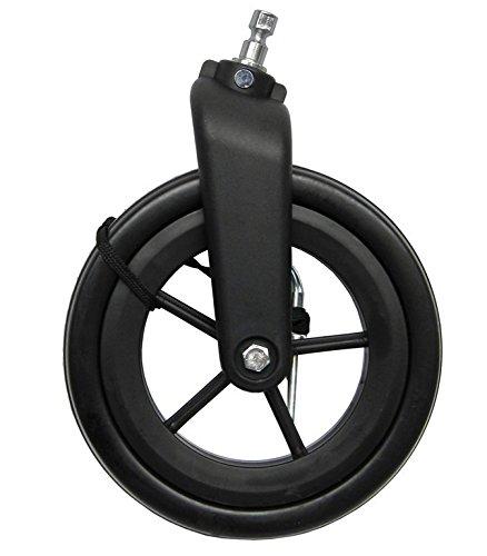 XLC Unisex– Erwachsene BX-X16 Buggyrad für Kinderanhänger, Schwarz, Einheitsgröße
