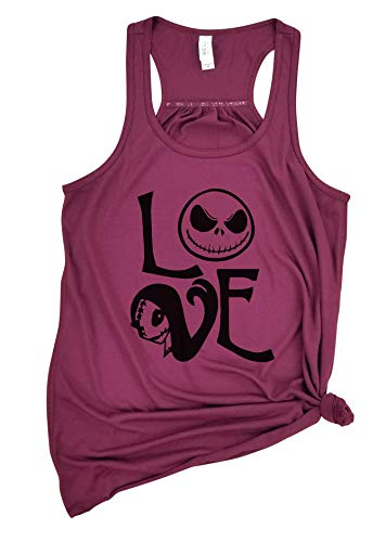 Love Nightmare Before Christmas - Halloween Tank, Jack Skellington Shirt, Nightmare Before Christmas shirt, Halloween shirt.