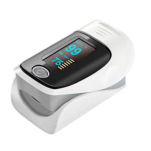 BZLRJM Finger Pulsoximeter Oximeter Digitaler rotierenden OLED Bildschirm Messen Sauerstoffgehalt im Blut Finger Herz Sauerstoffsättigung Herzfrequenz Monitor2