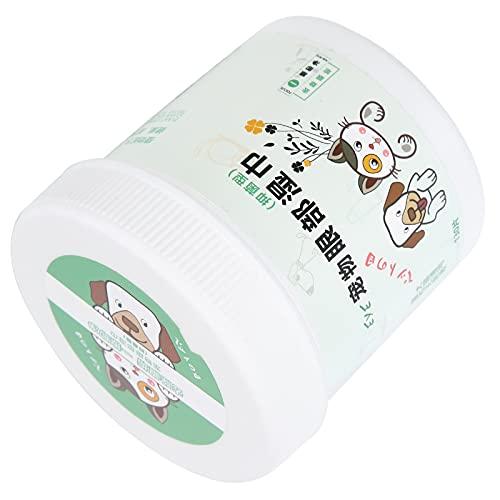 Jinyi Toallitas de Limpieza, Suaves toallitas portátiles para Mascotas Suministros para Mascotas con extracto de Aloe Vera para Limpiar