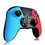 Wireless Controller Compatible with Switch Pro/Switch Console,Gamepad Joystick Support Rechargeable Battery, Gyro Axis,Dual Vibration,Turbo,Capture Function,Motion Control