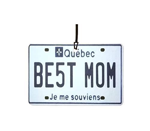 Ali Air Freshener Quebec - Best Mom Nummernschild Auto Lufterfrischer
