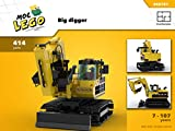 Big digger (Instruction Only): MOC LEGO (English Edition)