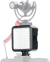 Ulanzi Ultra Bright LED Video Light - LED 49 Dimmable High Power Panel Video Light for DJI Ronin S SC OSMO Mobile 3 2 Zhiyun WEEBILL Smooth 4 Gimbal for Canon Nikon Sony Digital DSLR Cameras