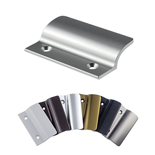 Balkongriff FH-Flach stabiler Ziehgriff aus Aluminium - F1 eloxiert - Balkontürgriff