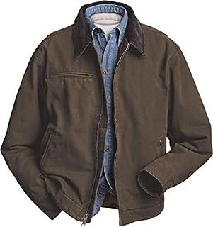 Dri Duck (Price/Each) 12oz 100% Cotton Canvas Outlaw Jacket-Tobacco-XL