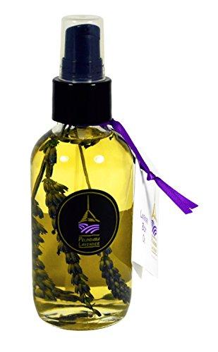Pelindaba Lavender Body Oil with Organic Lavender Essential Oil - 4 fl oz
